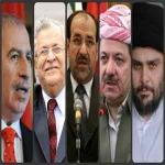 آرایش عمومی احزاب شیعی، کُرد و سنی در انتخابات 2014